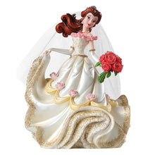 Laden Sie das Bild in den Galerie-Viewer, Disney Figur Showcase Enesco Haute Couture Hochzeits Belle