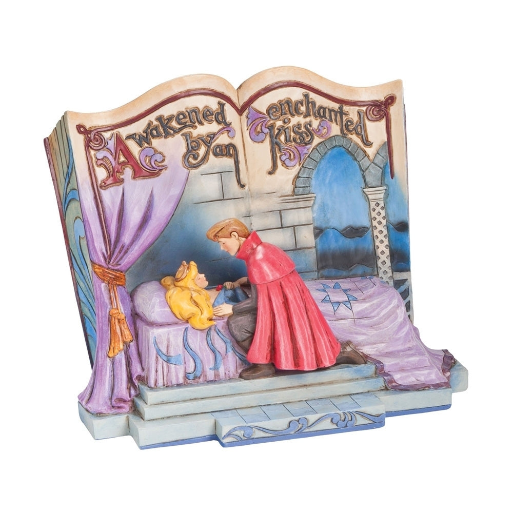 Disney Enesco Jim Shore Traditions Storybook Dornröschen Aurora Storybook 4043627 2019