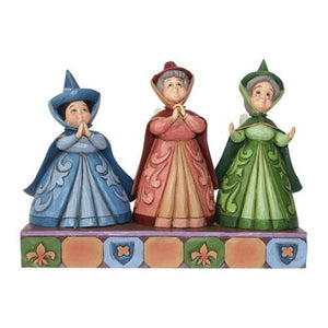 Disney Enesco Traditions Jim Shore 4059734 3 gute Feen Dornröschen