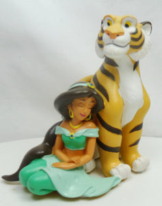 Disney Classic Figur WIDDOP Magical Moments : Aladdin Jasmin & Rajah