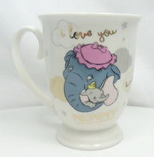 Laden Sie das Bild in den Galerie-Viewer, Disney MUG Kaffeetasse Tasse Pott Teetasse Widdop Magical Moments : Dumbo & Mummy Jumbo