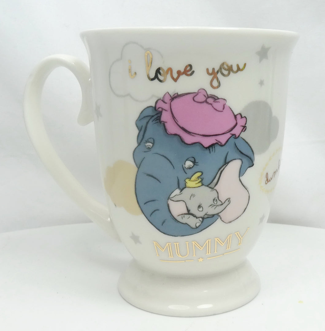 Disney MUG Kaffeetasse Tasse Pott Teetasse Widdop Magical Moments : Dumbo & Mummy Jumbo