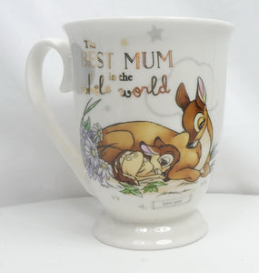 Disney MUG Kaffeetasse Tasse Pott Teetasse Widdop Magical Moments : Bambi & Mutter
