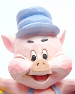 Disney Enesco Traditions Figur Jim Shore : 3 Kleinen Schweinchen Silly Symphony