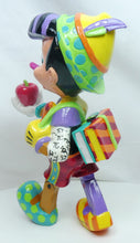 Laden Sie das Bild in den Galerie-Viewer, Disney Enesco Romero Britto Figur : Pinocchio 80 Jahre Edition