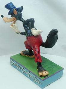 Disney Enesco Traditions Figur Jim Shore : Ede wolf Silly Symphony Big Bad Wolf