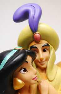 Disney Enesco Enchanting Jasmin Aladdin A whole new World A28075 Figur auf dem Teppich
