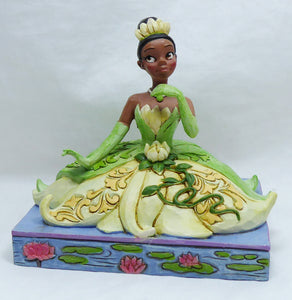 Disney Traditions Jim Shore Figur : Prinzessin Tiana 6001279 Be Independent