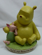 Laden Sie das Bild in den Galerie-Viewer, Disney Classic Figur WIDDOP Magical Moments :Spardose Winnie Pooh