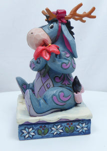 Disney Enesco Jim Shore Traditions 6002844 Winter Wunder eeyore iiaH von winnie Pooh