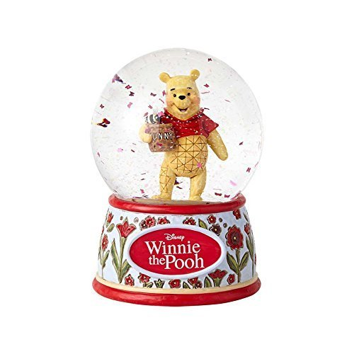 Disney Enesco Traditions Jim Shore 4059191 Schneekugel Winnie the Pooh Silly Old Bear