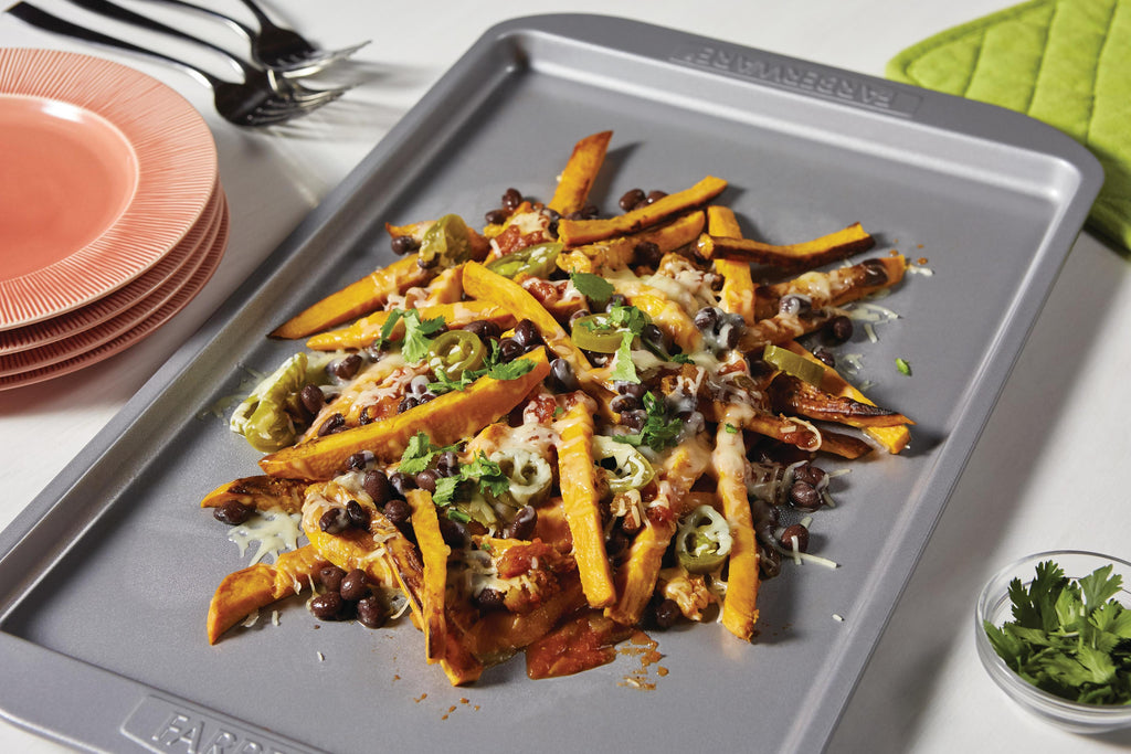 Sweet Potato Fry Nachos