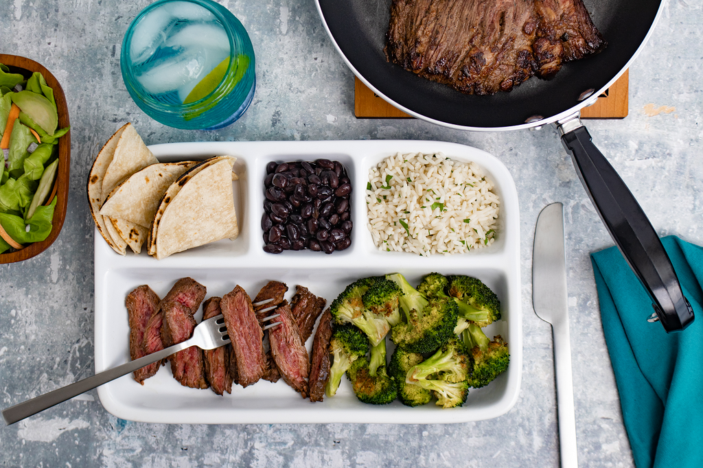 "Carne Asada ""TV Dinner"""