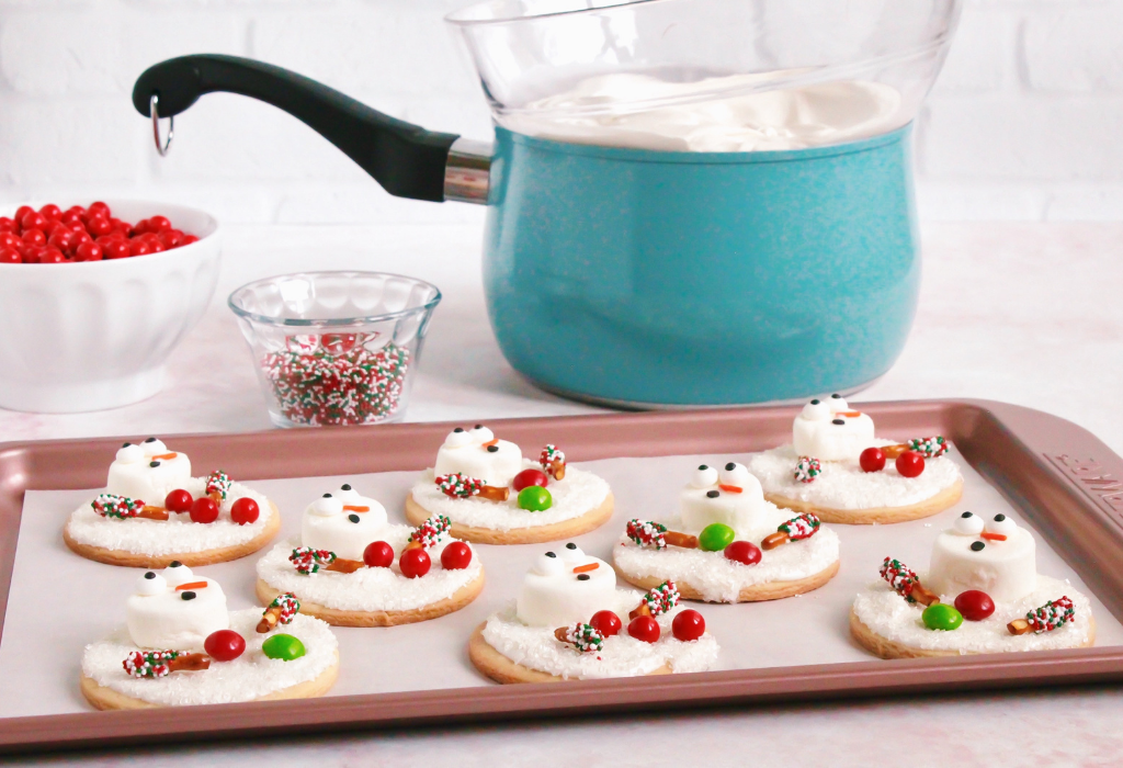 Melting Snowman Cookies - Farberware
