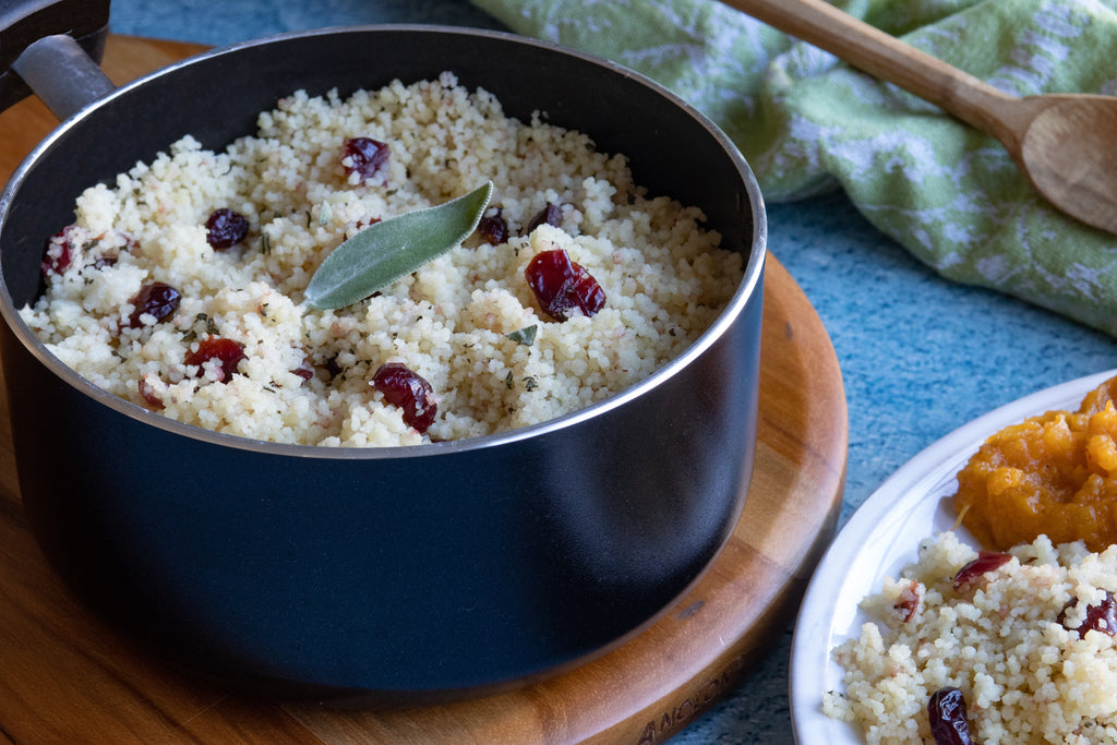 Cranberry and Sage Couscous