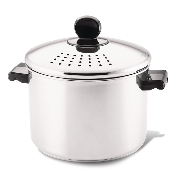 Stockpot with Straining Lid