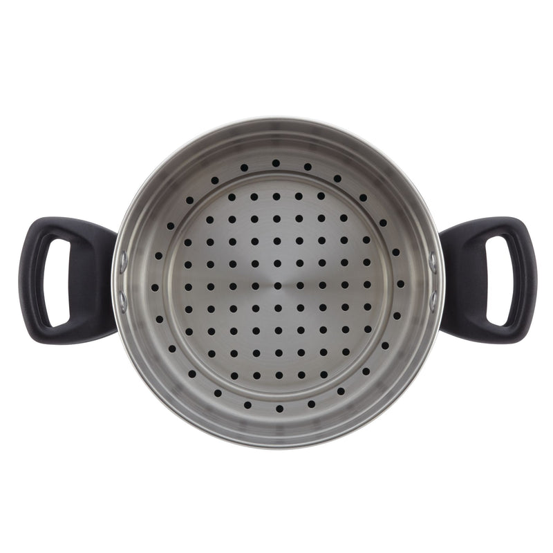 3-Quart Nonstick Saucepot Steamer