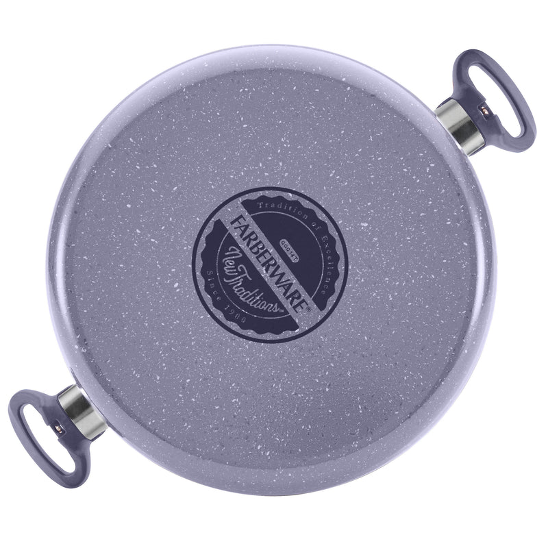 Farberware New Traditions Speckled Aluminum Nonstick Cookware, Base View , feature