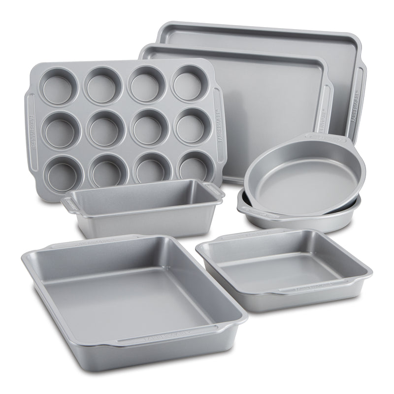 8-Piece Nonstick Bakeware Set