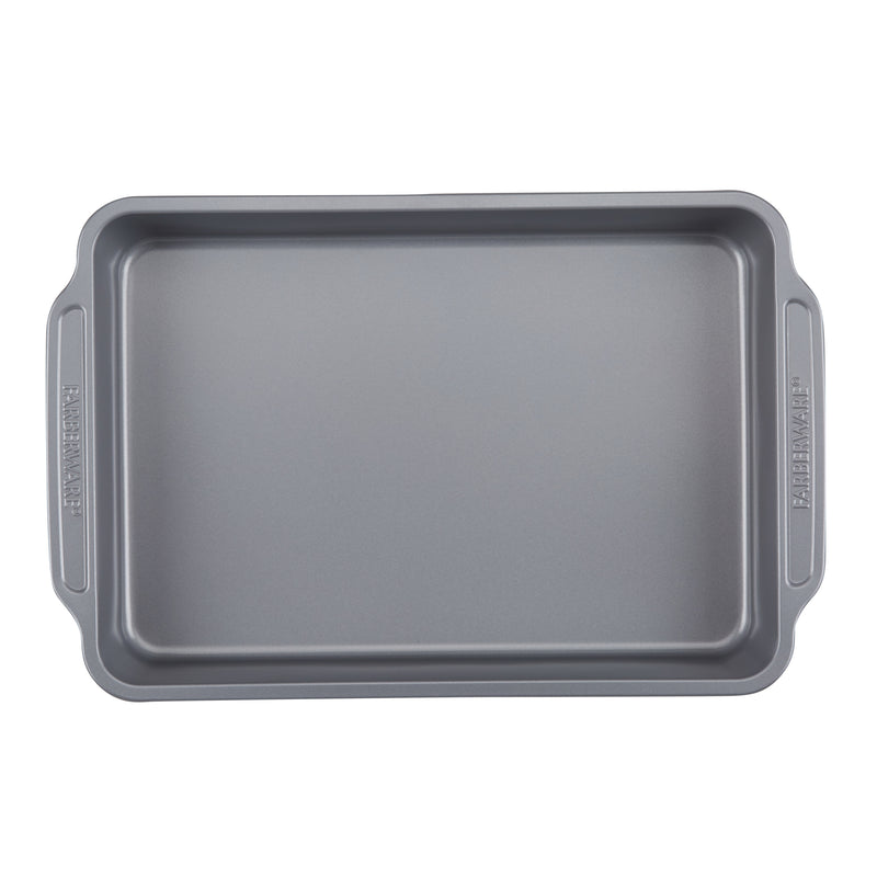 Farberware Nonstick Bakeware, Gray, Interior View, feature