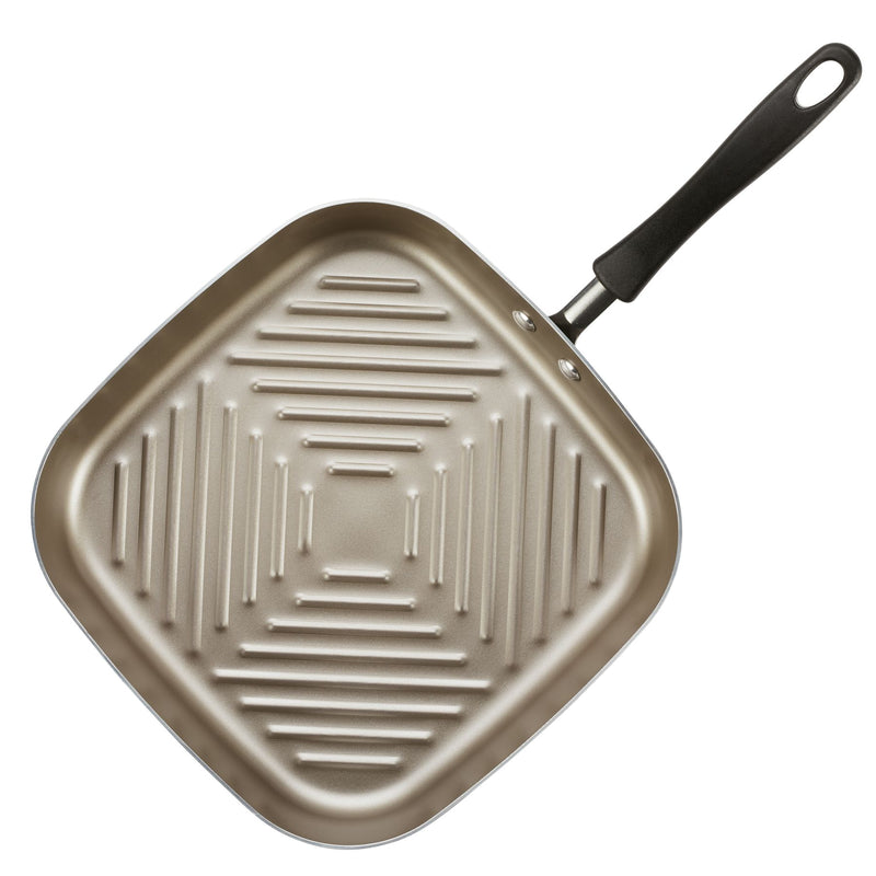 11-Inch Nonstick Square Deep Grill Pan