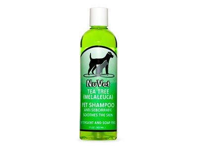 NuVet Tea Tree Shampoo