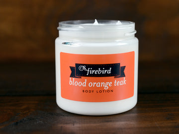 Blood Orange Teak Body Lotion
