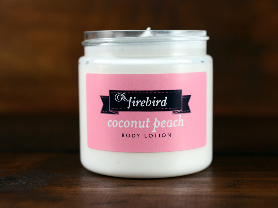 Coconut Peach Body Lotion
