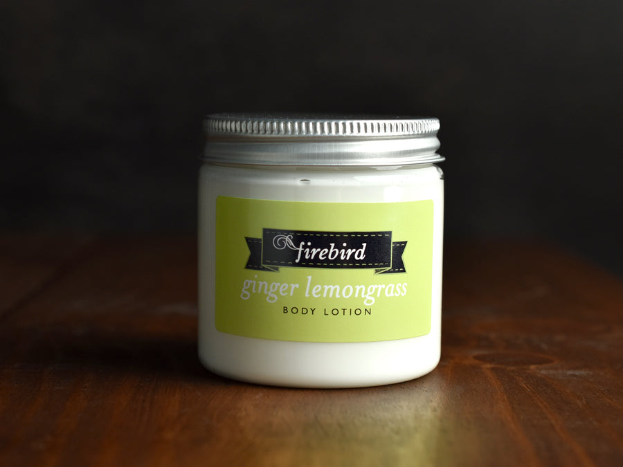Ginger Lemongrass Body Lotion