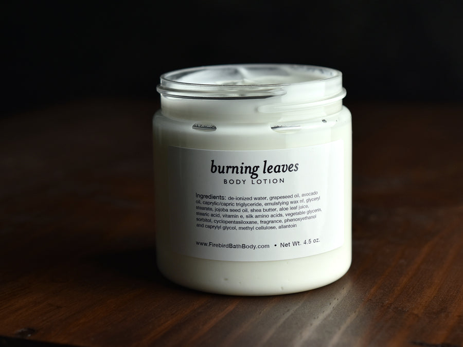 Burning Leaves Body Lotion