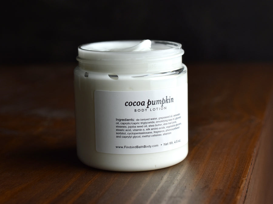 Cocoa Pumpkin Body Lotion