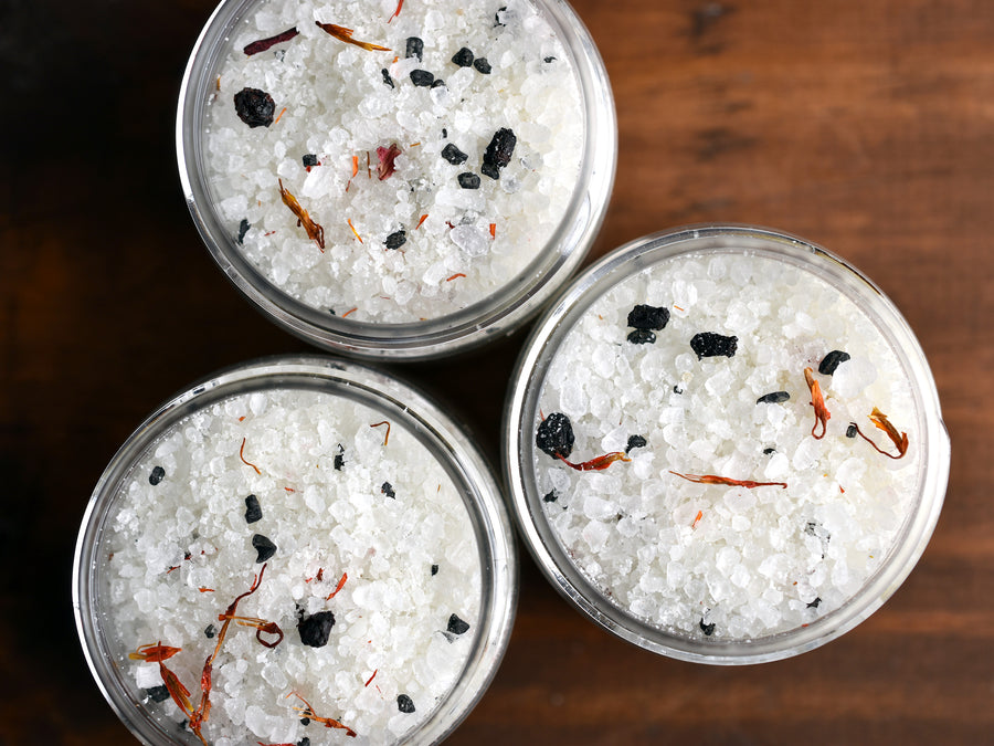 Fireplace Bath Salts - Mini Jar
