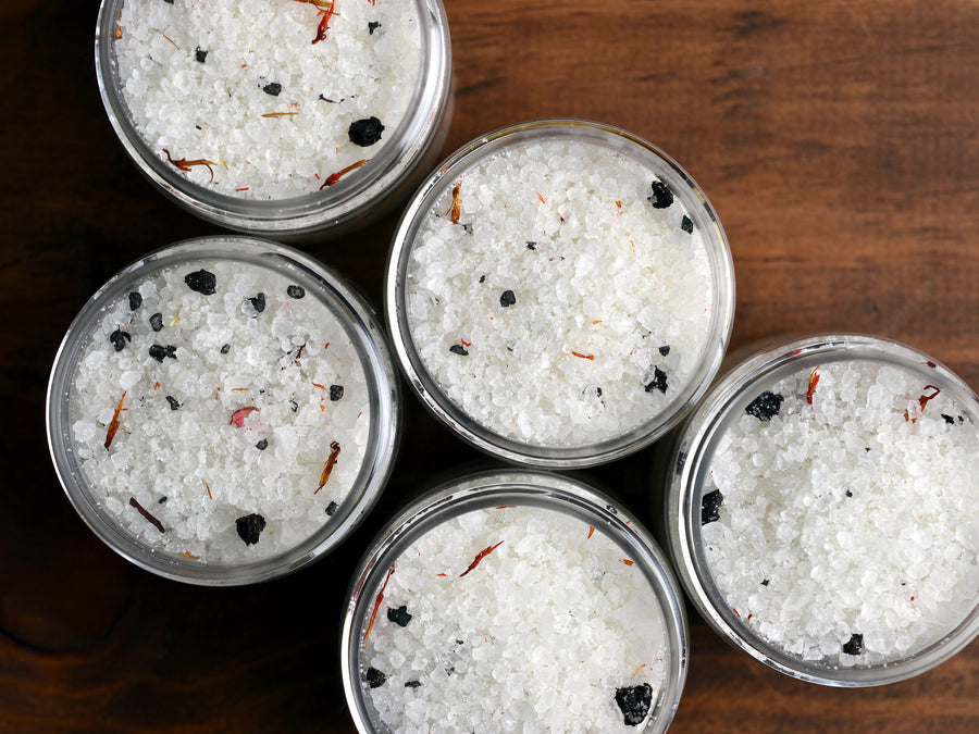 Fireplace Bath Salts