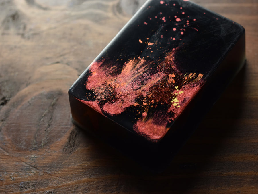 Burning Leaves Soap