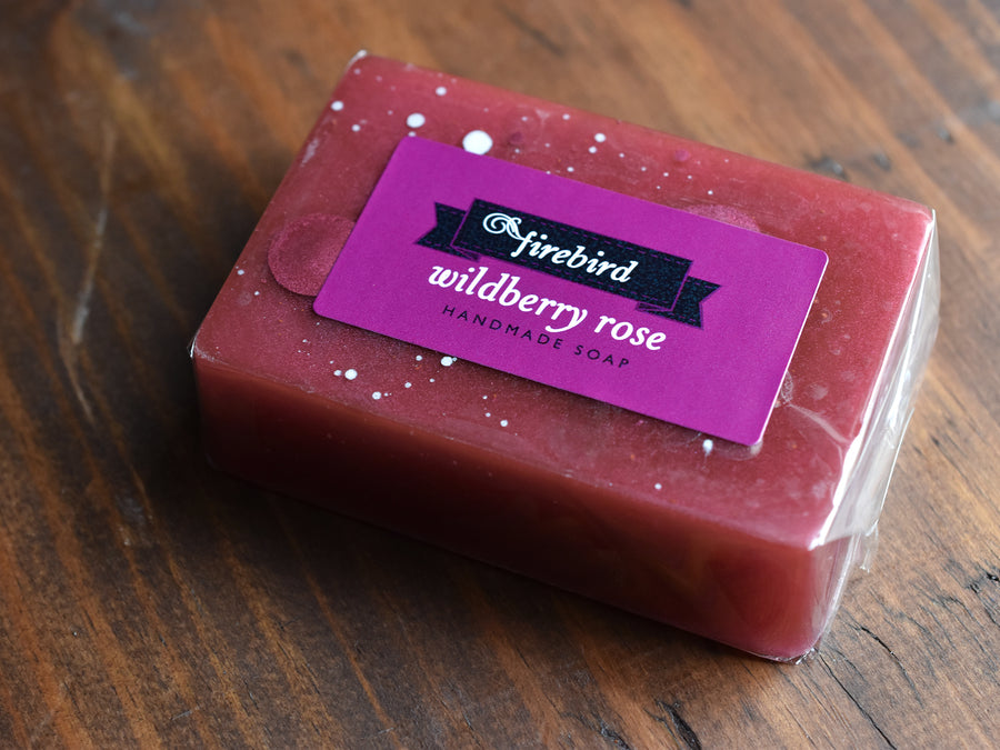 Wildberry Rose Soap