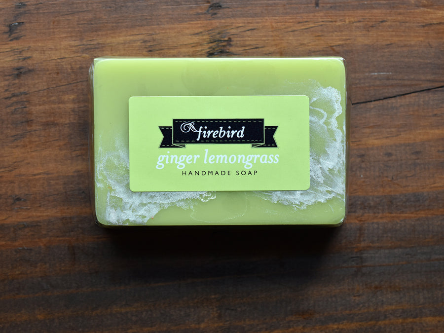 Ginger Lemongrass Soap