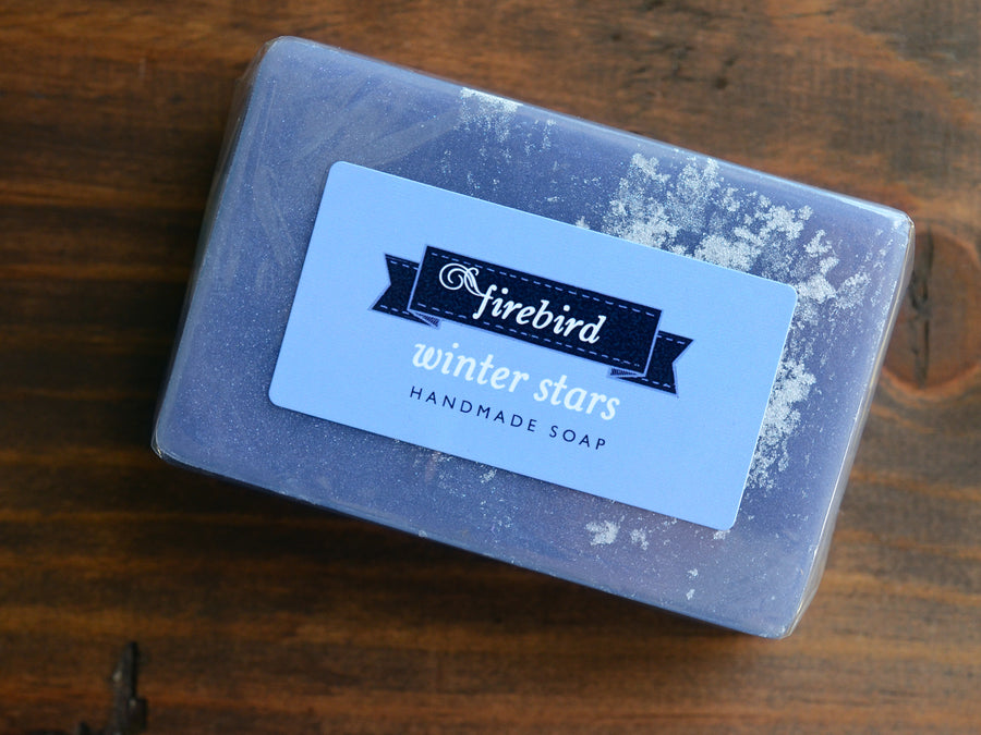 Winter Stars Soap