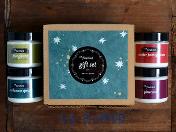 Bath & Body Gift Set - Holiday - Mini Lotions