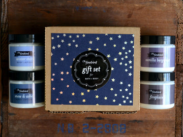 Bath & Body Gift Set - Winter - Mini Lotions