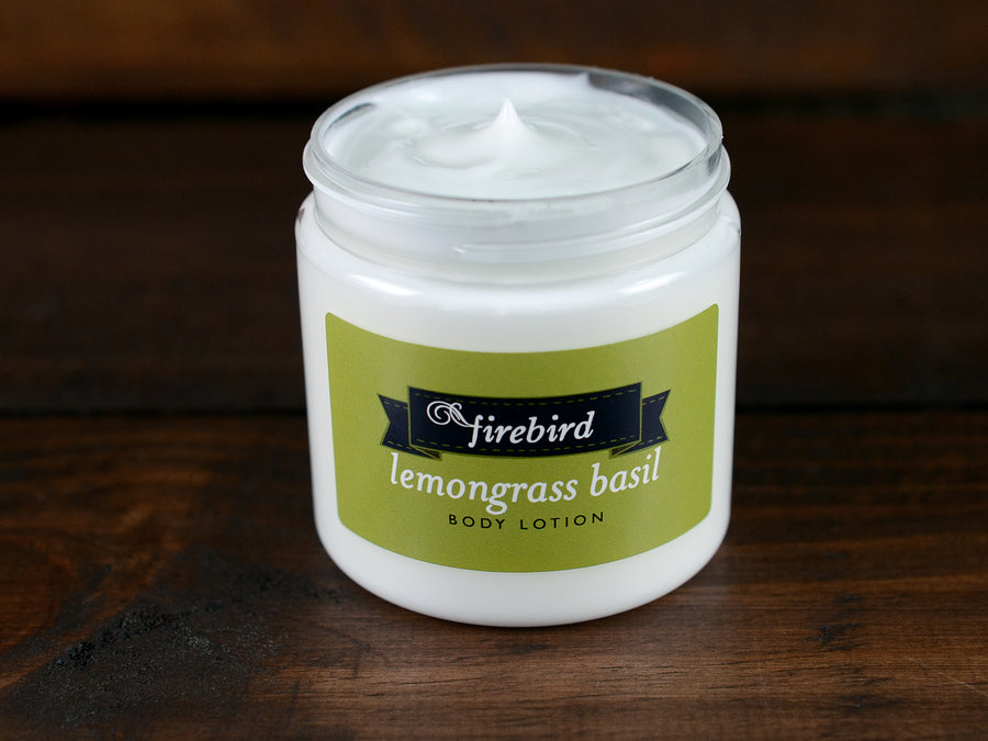 Lemongrass Basil Body Lotion