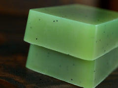 Lemongrass Basil Soap