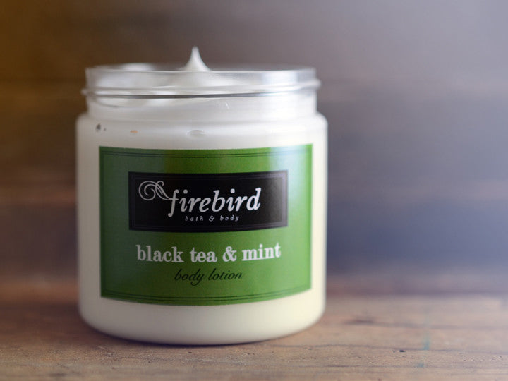 Black Tea & Mint Body Lotion