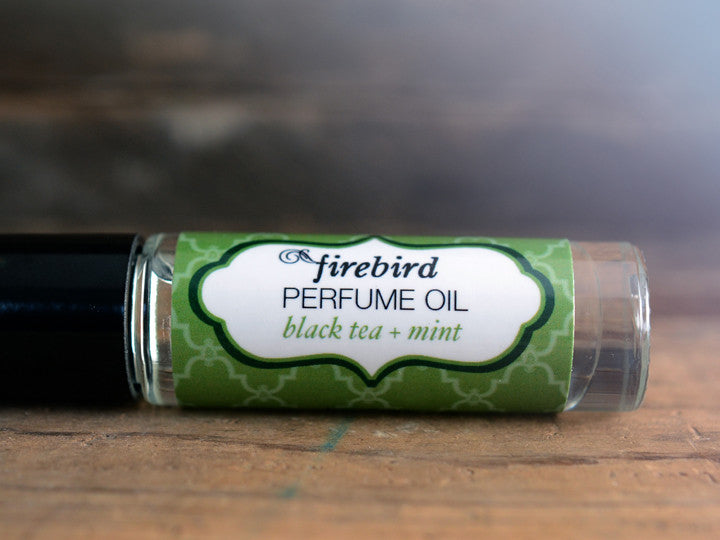 Black Tea & Mint Perfume