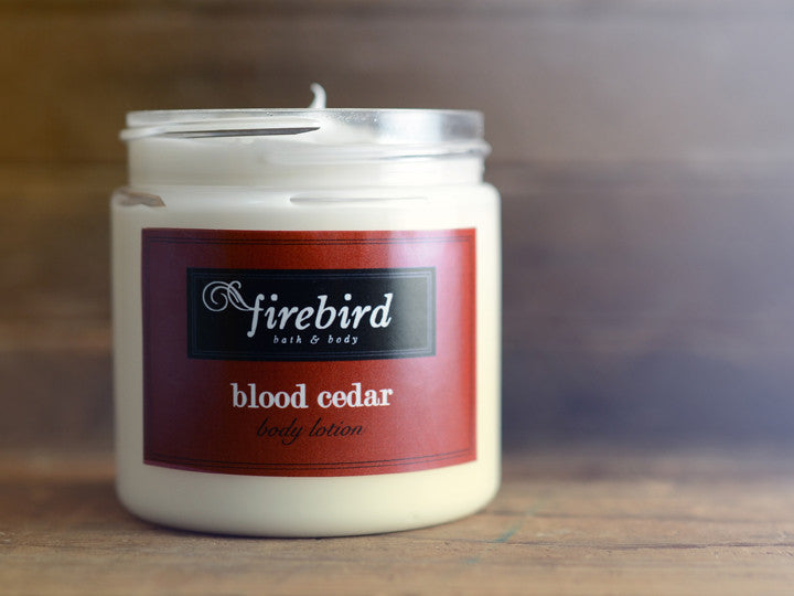 Blood Cedar Body Lotion