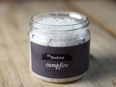 Campfire Bath Salts - Mini Jar