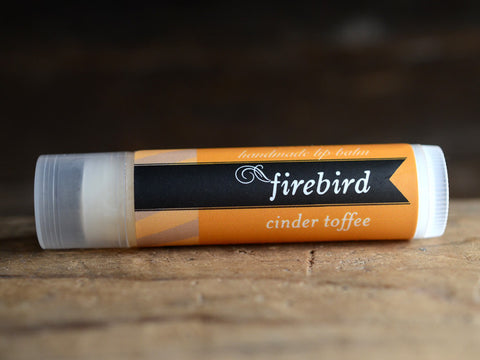 Cinder Toffee Lip Balm