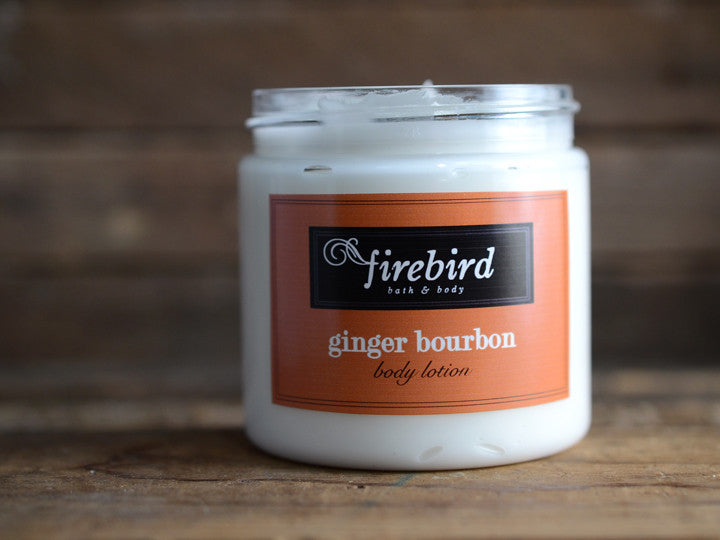 Ginger Bourbon Body Lotion