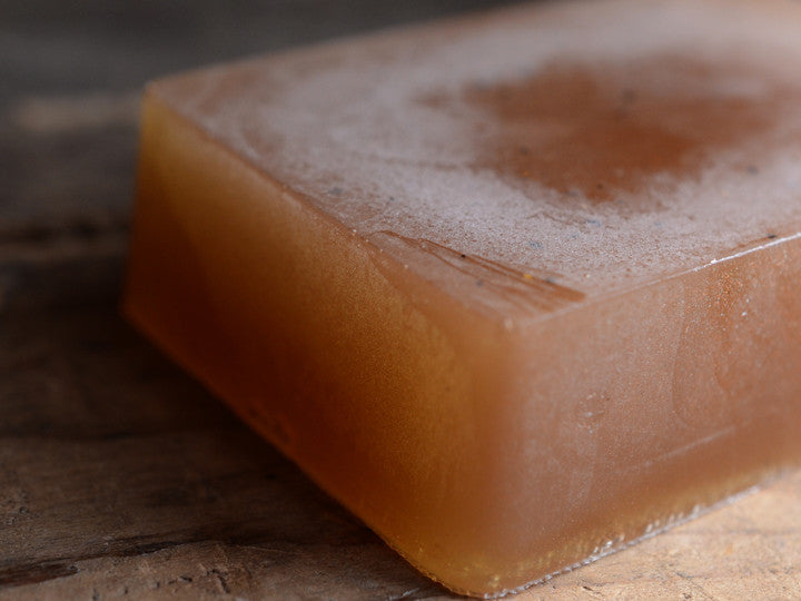 Ginger Bourbon Soap
