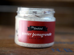 Winter Pomegranate Bath Salts - Mini Jar