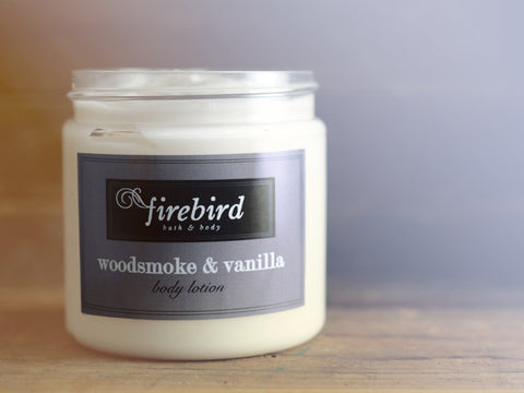 Woodsmoke & Vanilla Body Lotion